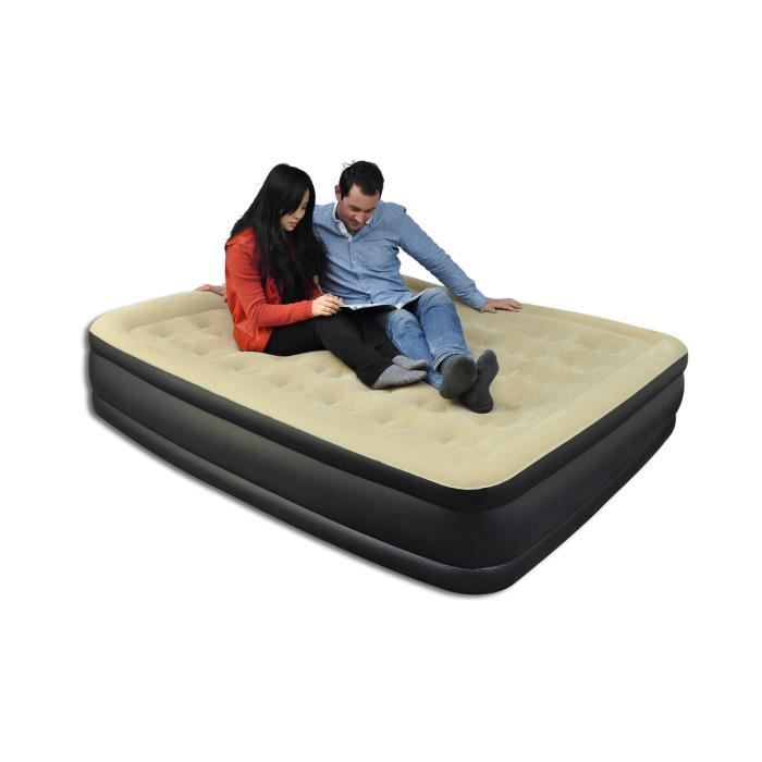 matelas pneumatique gonflable achat vente matelas. Black Bedroom Furniture Sets. Home Design Ideas