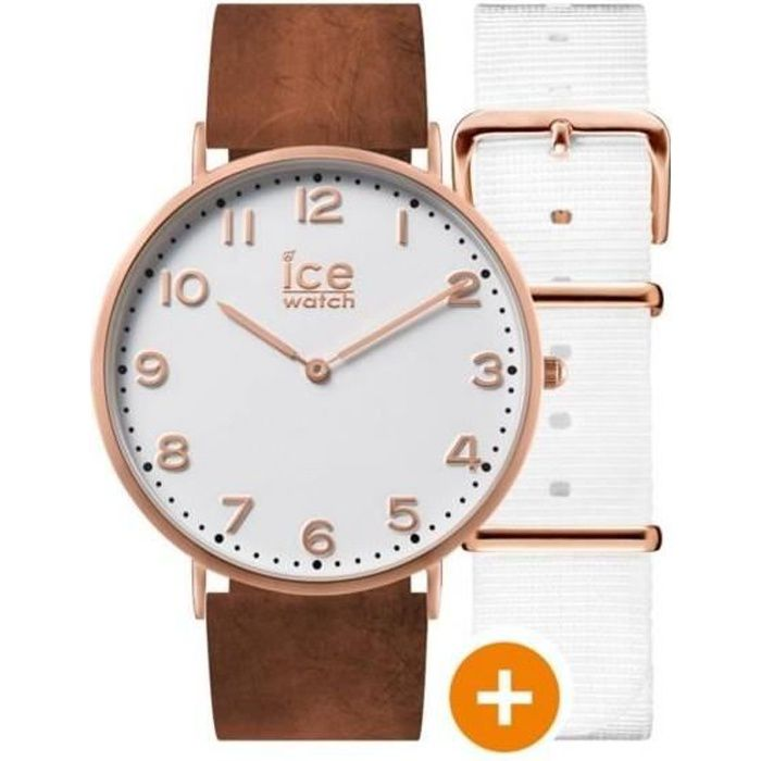 MONTRE Montre Ice Watch Camel ICE CITY WHITECHAPEL Unisex