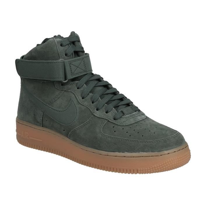 BASKET Basket Nike air force 1 haute '07 LV8 en daim vert