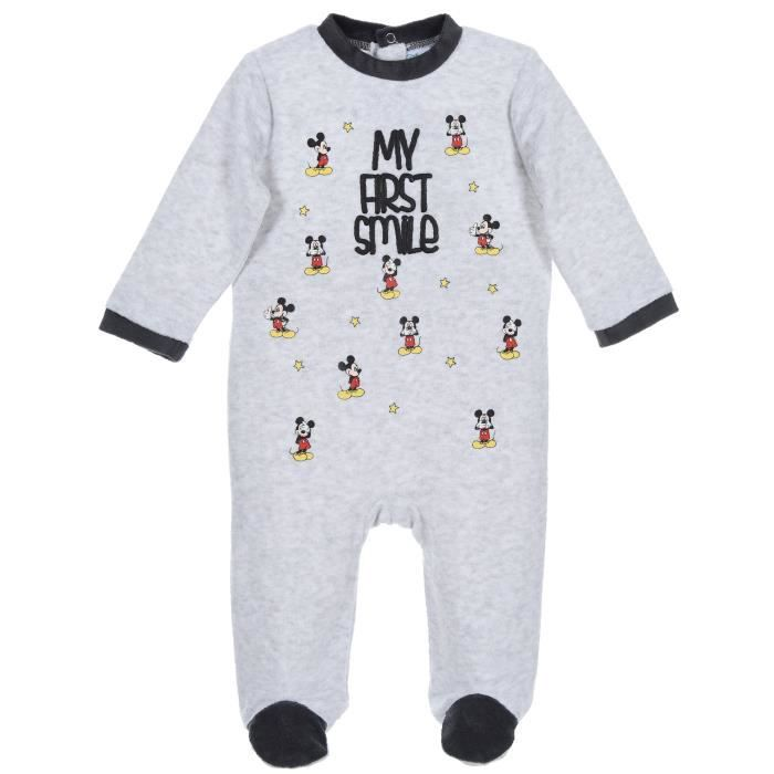 Mickey Mouse Pyjama Dors Bien B/éb/é Gar/çon