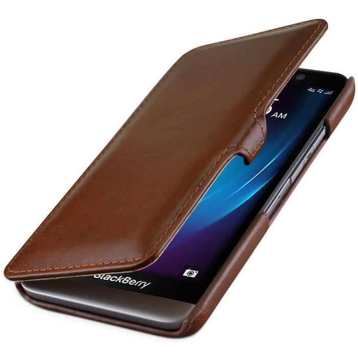 Housse blackberry z30 stilgut book type en cuir achat for Housse blackberry