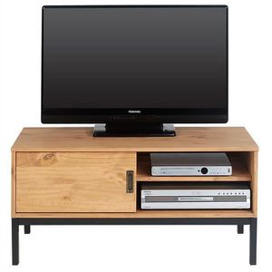 meuble tv style industriel achat vente pas cher. Black Bedroom Furniture Sets. Home Design Ideas