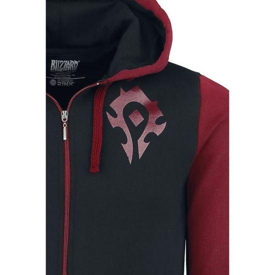 World Of Warcraft Fierté De La Horde Sweat shirt zippé à