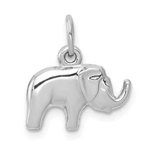 SAUTOIR ET COLLIER Collier 14k Femmes Pendentif éléphant blanc d'or p