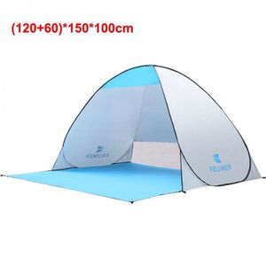 TENTE DE CAMPING Version Argent - Cn - Tente De Camping Automatique
