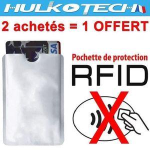 PORTE CARTE Etui protecteur sécurité Pochette de protection RF