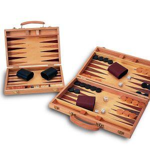JEU SOCIÉTÉ - PLATEAU JUGUETES CAYRO Backgammon Bois