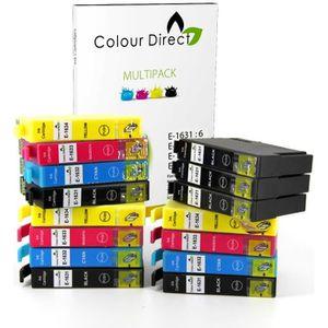 CARTOUCHE IMPRIMANTE 15 XL ColourDirect Cartouches D'encre Pour Epson W
