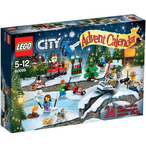 ASSEMBLAGE CONSTRUCTION LEGO® City 60099 Le Calendrier de l'Avent