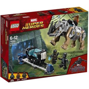 ASSEMBLAGE CONSTRUCTION LEGO® Marvel Super Heroes 76099 Black Panther cont