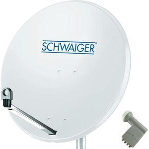 PARABOLE Parabole 80 cm Schwaiger 1 satellite LNB Quad