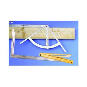 EQUERRE - COMPAS kit traçage indispensable aux charpentiers SSK