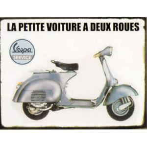 plaque metal vespa achat vente plaque metal vespa pas cher cdiscount. Black Bedroom Furniture Sets. Home Design Ideas
