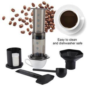 MACHINE À CAFÉ Machine à expresso filtre à café en plastique--Ros