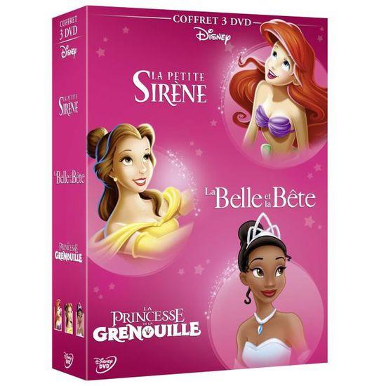 Disney Classiques Coffret Dvd La Petite Sirène La Belle