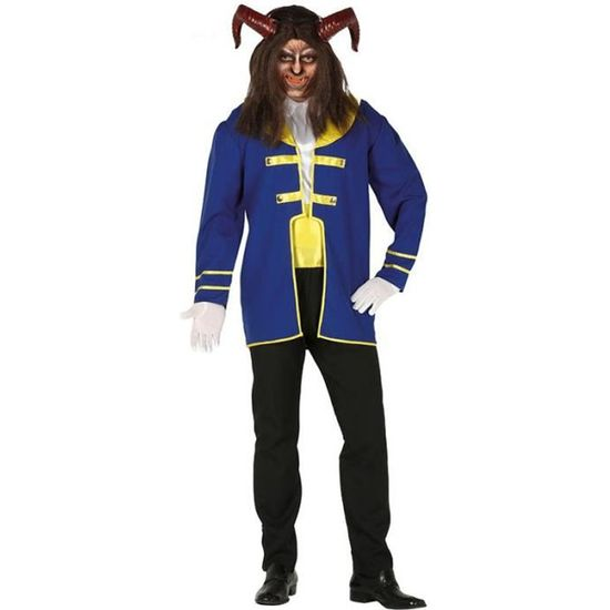 La belle et la Bête Prince Costume Halloween Hommes Cosplay Costume Bonne Made