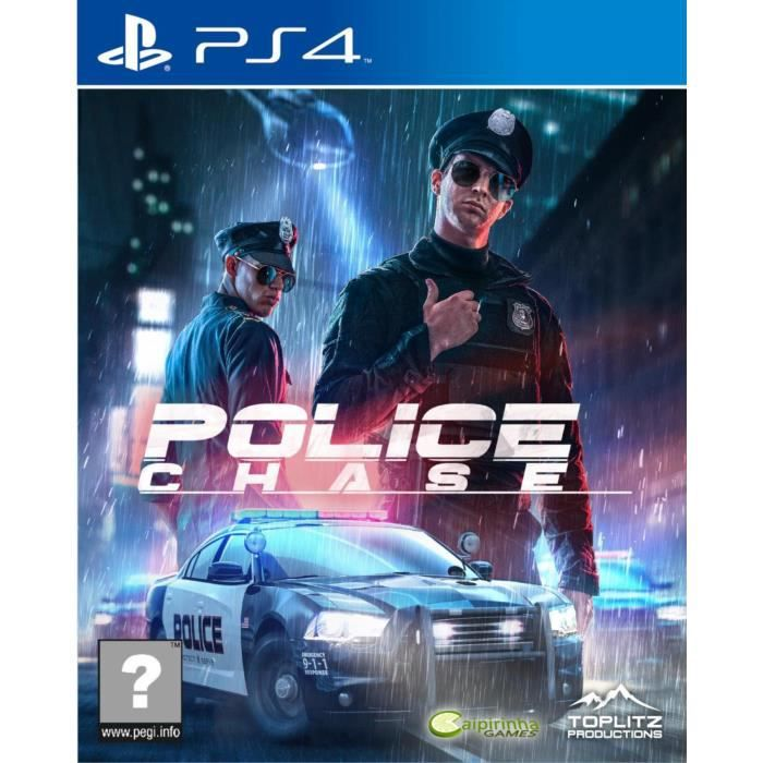 Police Chase Jeu PS4