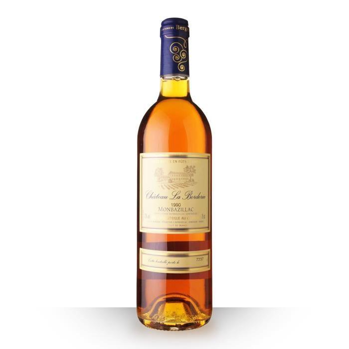 Château la Borderie 1990 AOC Monbazillac - 75cl - Vin Blanc
