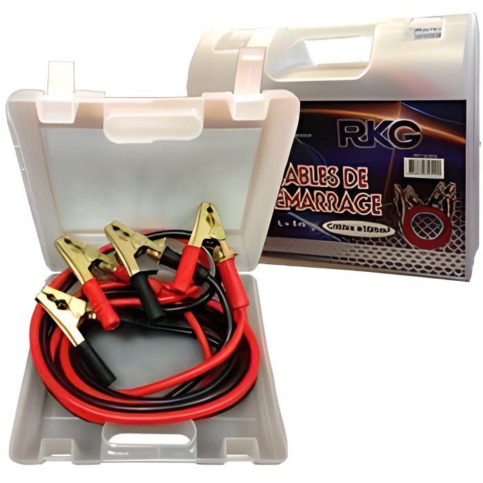 Cables de demarrage 50mm2 1000A 5m special PL -valisette-