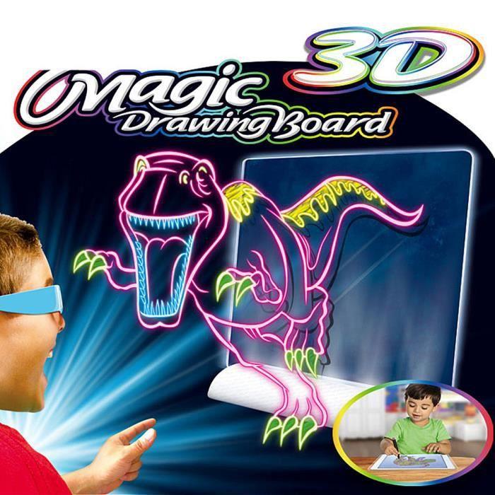 TABLETTE 3D MAGIC DINOSAURE