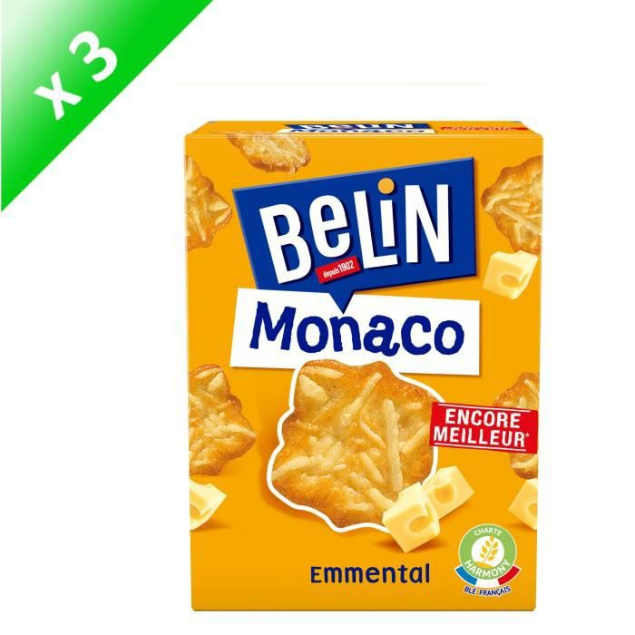 [LOT DE 3] Biscuits crackers 100 g Belin