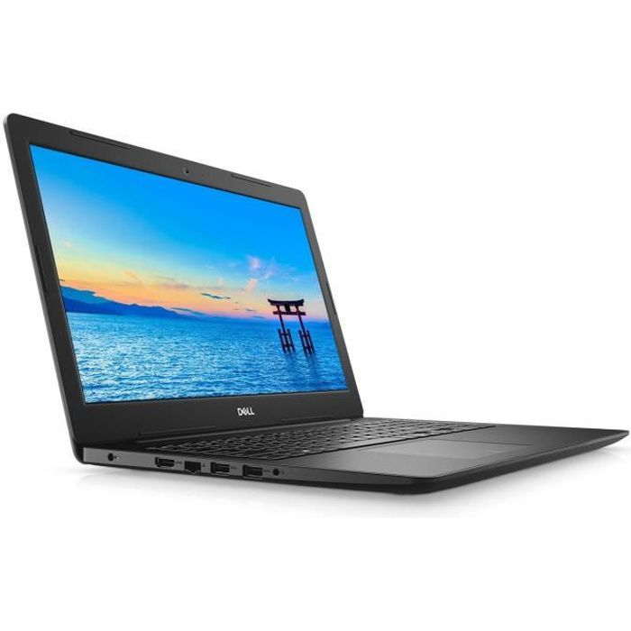 DELL Notebook Inspiron 15 3585 - RAM 8Go - AMD Ryzen™ 5 2500U - Stockage 256Go SSD - Windows 10