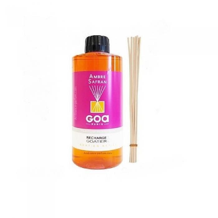 Parfum d'intérieur Recharge goatier 500 ml miel vanille goa Multicolore