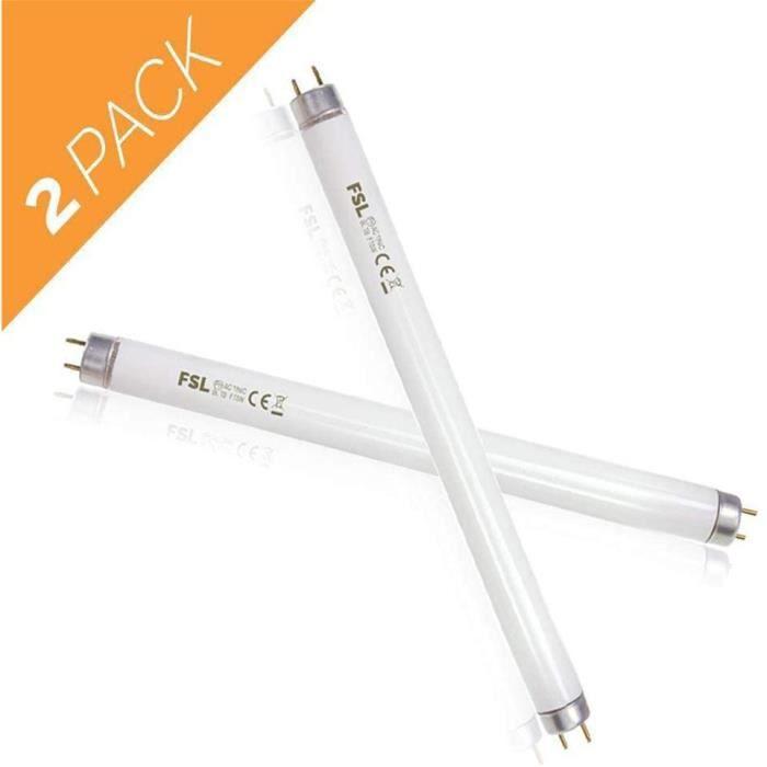 KENLUMO Lampe UV Anti Insectes Volants. Tue-Mouche Destructeur d' Insectes Electrique 20W. Lampe Anti Moustique Electrique (Lampe)