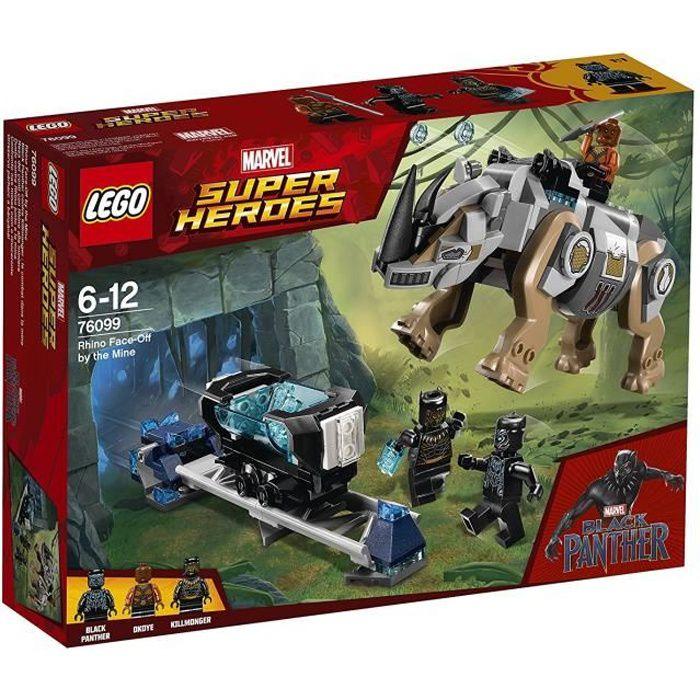 LEGO® Marvel Super Heroes 76099 Black Panther contre Killmonger : le combat dans la mine