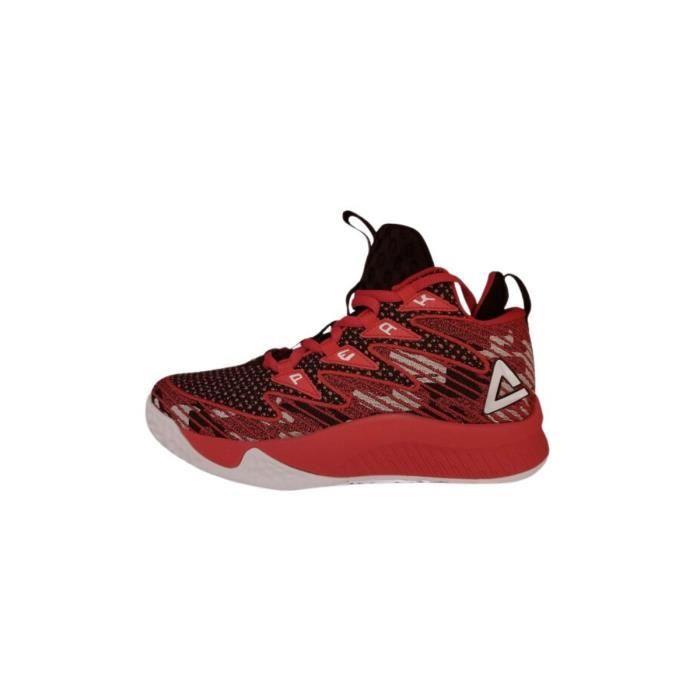 Chaussures de basketball enfant Peak Lou Williams - rouge - 35