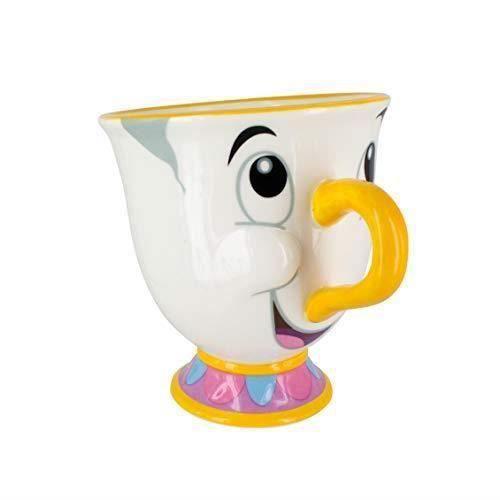 Paladone Disney Mug La Belle et la Bête-Zip, PaladoneGIFPAL319, Off White, Taille Unique PP3556DP