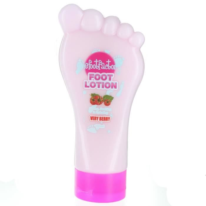 Lotion Pour Les Pieds Pretty the Foot Factory Very Berry 180ml