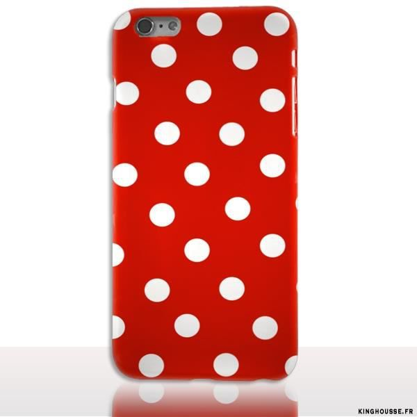 coque iphone 6 a pois