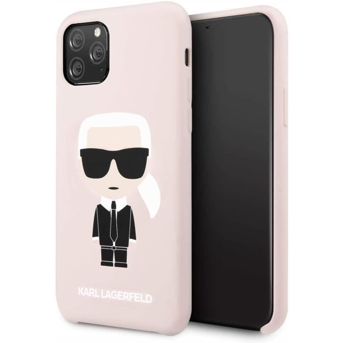 coque pour iphone 11 pro karl lagerfeld silicone r