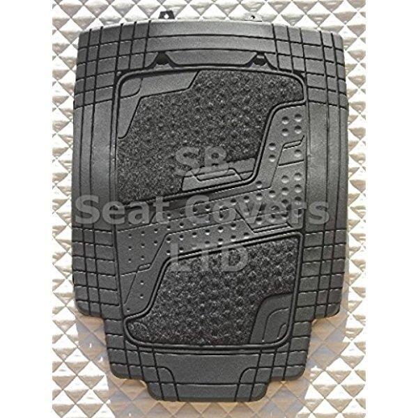 Perfect Fit Noir tapis de voiture Tapis de sol Set sur mesure pour Kia Sportage 2010-2015
