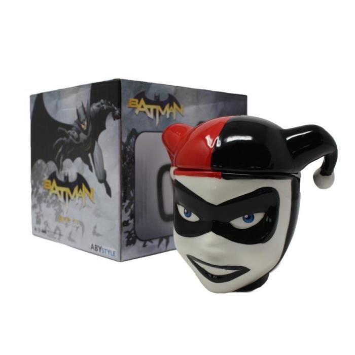 Officiel DC Comics 3D Harley Quinn Mug Tasse avec couvercle nouveau dans boîte cadeau
