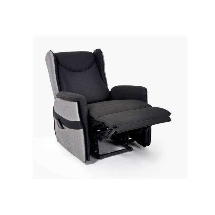Fauteuil relax electrique roland xxl achat vente fauteuil polyester cdi - Fauteuil relax discount ...