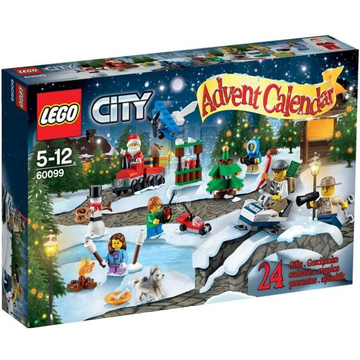 lego city 60099 le calendrier de l 39 avent achat vente. Black Bedroom Furniture Sets. Home Design Ideas
