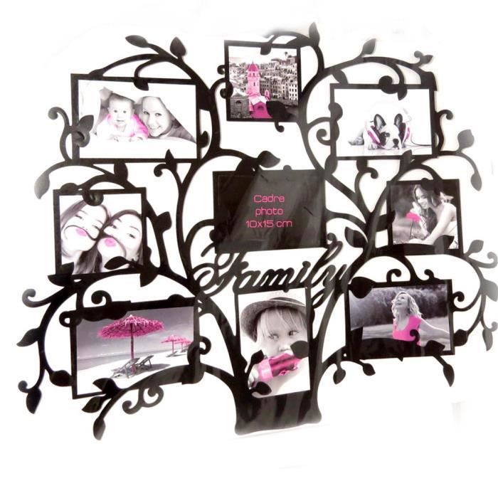 sticker p le m le arbre de vie noir achat vente. Black Bedroom Furniture Sets. Home Design Ideas