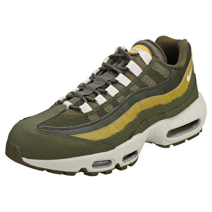 buy popular 0bcee 14659 ESPADRILLE Nike Air Max 95 Essential Homme Baskets Olive Brun
