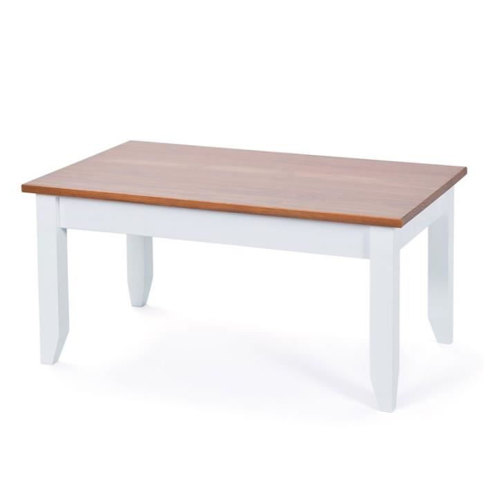 Paris prix table basse takao h tre blanc beige - Table basse laquee beige ...