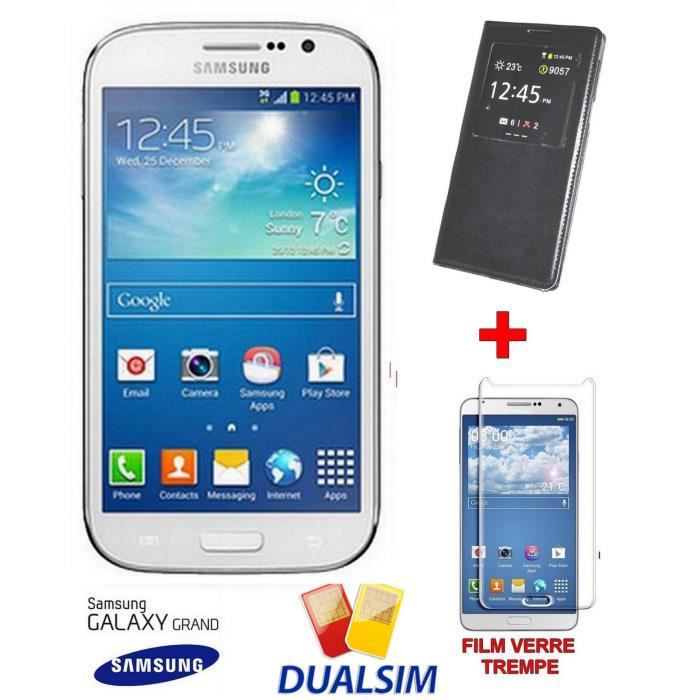 samsung smartphone galaxy grand double sim i9060 film. Black Bedroom Furniture Sets. Home Design Ideas