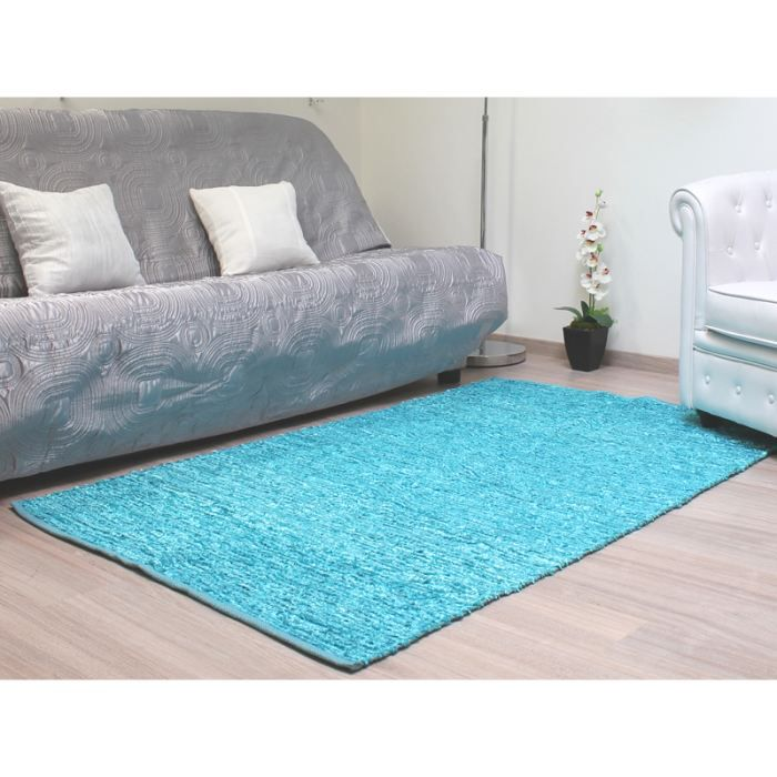 tapis salon turquoise maison design. Black Bedroom Furniture Sets. Home Design Ideas
