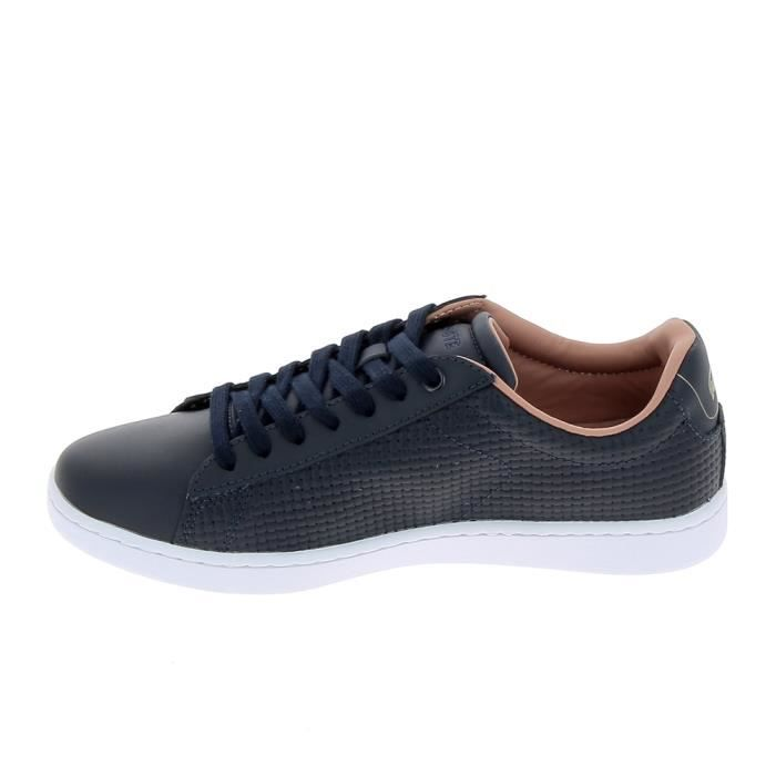 Basket -mode - Sneakers LACOSTE Carnaby Evo Marine