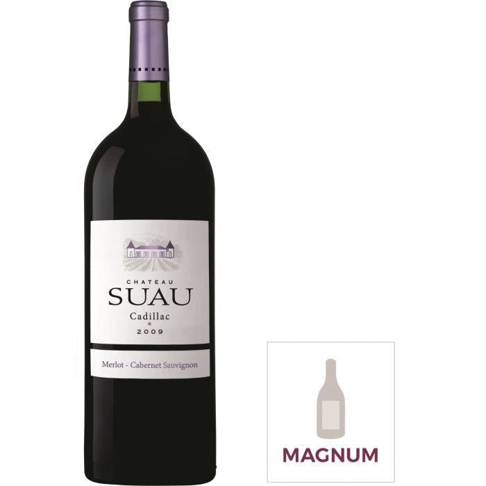 Magnum Château Suau Cadillac 2009 Côtes de Bordeaux - Vin rouge de Bordeaux