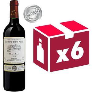 VIN ROUGE Château Saint Rémy Fronsac 2009 - Vin rouge