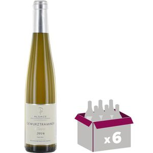 VIN BLANC Carton de 6 ANDLAU Gewurztraminer Vin d' Alsace -