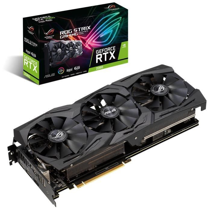Asus Carte graphique Geforce Rtx 2060 Strix Gaming 6 Go