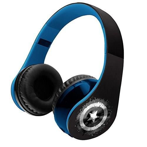 LEXIBOOK - AVENGERS - Casque Audio Enfant Bluetooth
