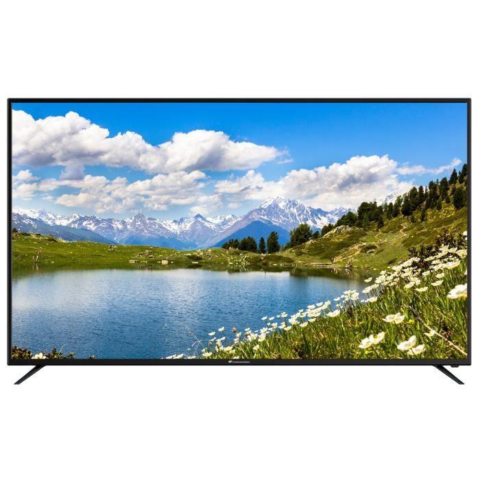 CONTINENTAL EDISON TV 65' (165 cm) 4K Ultra HD (3840x2160) - HDR 10 Port Optique